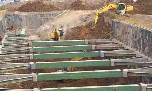 نتیجه تصویری برای روش های پایدار سازی دیواره گود(سازه نگهبان)